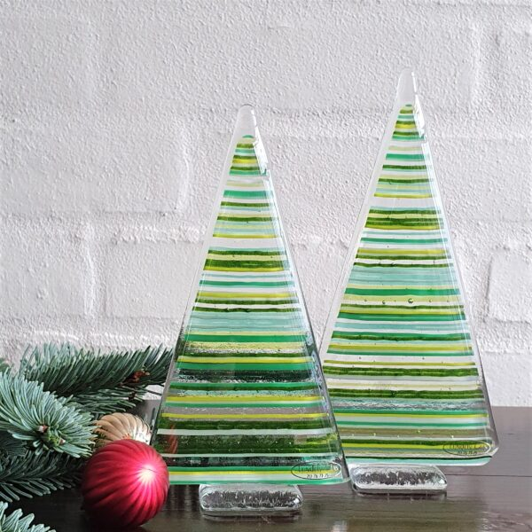 Stribede juletræer - stor