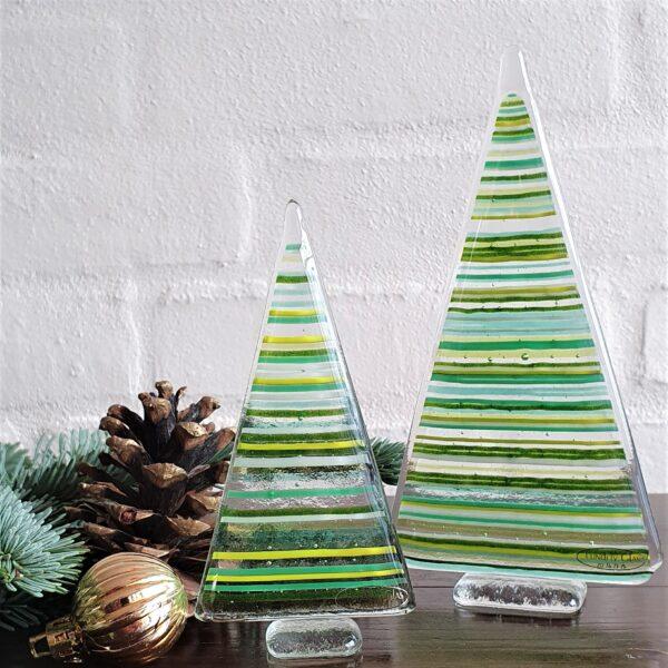 Stribede juletræer